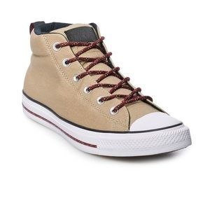 CONVERSE CHUCK TAYLOR ALL STAR STREET MID SNEAKERS